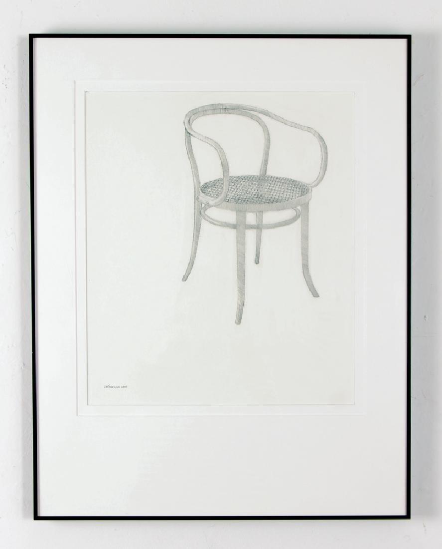 Harry Schwalb 2000 drawing Throne - 2