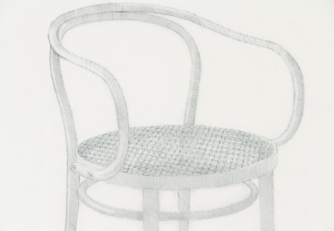 Harry Schwalb 2000 drawing Throne - 4
