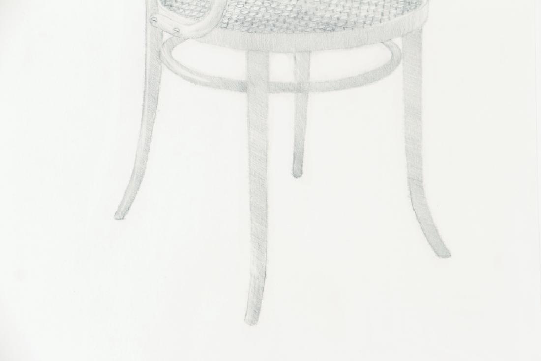 Harry Schwalb 2000 drawing Throne - 5