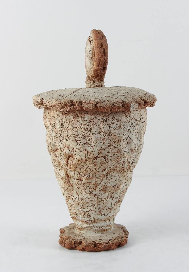 James Shipman Hand Thrown Pottery Lidded Vessel