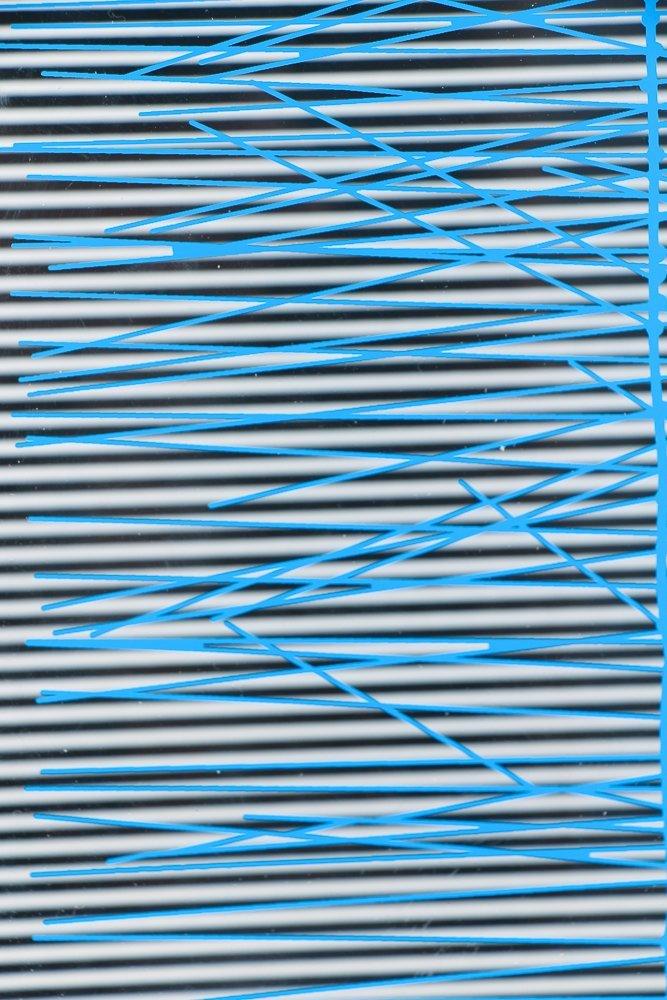 Jesus Rafael Soto Escalera Azul, 1979 screenprinted - 5