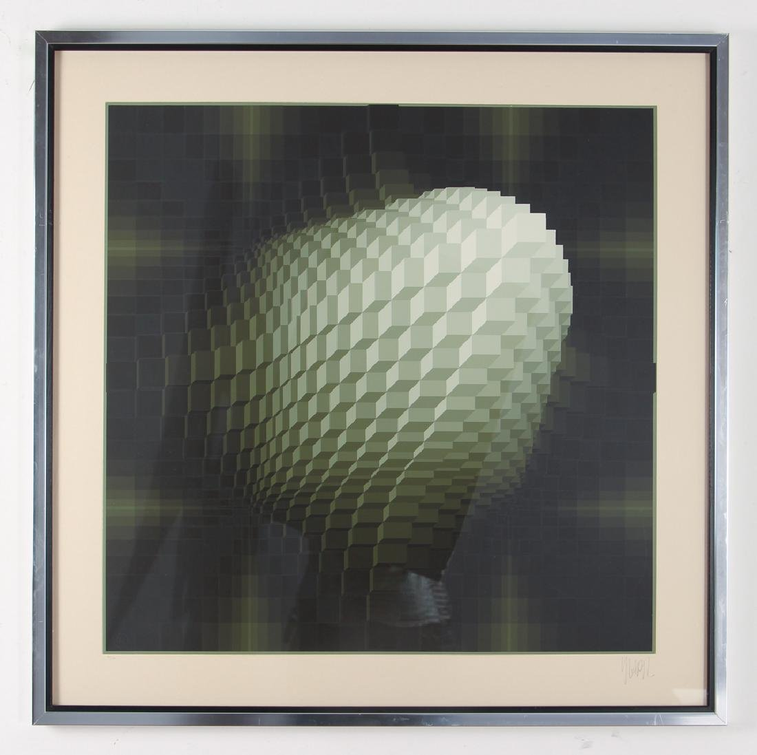 Jean-Pierre Vasarely original serigraph - 2