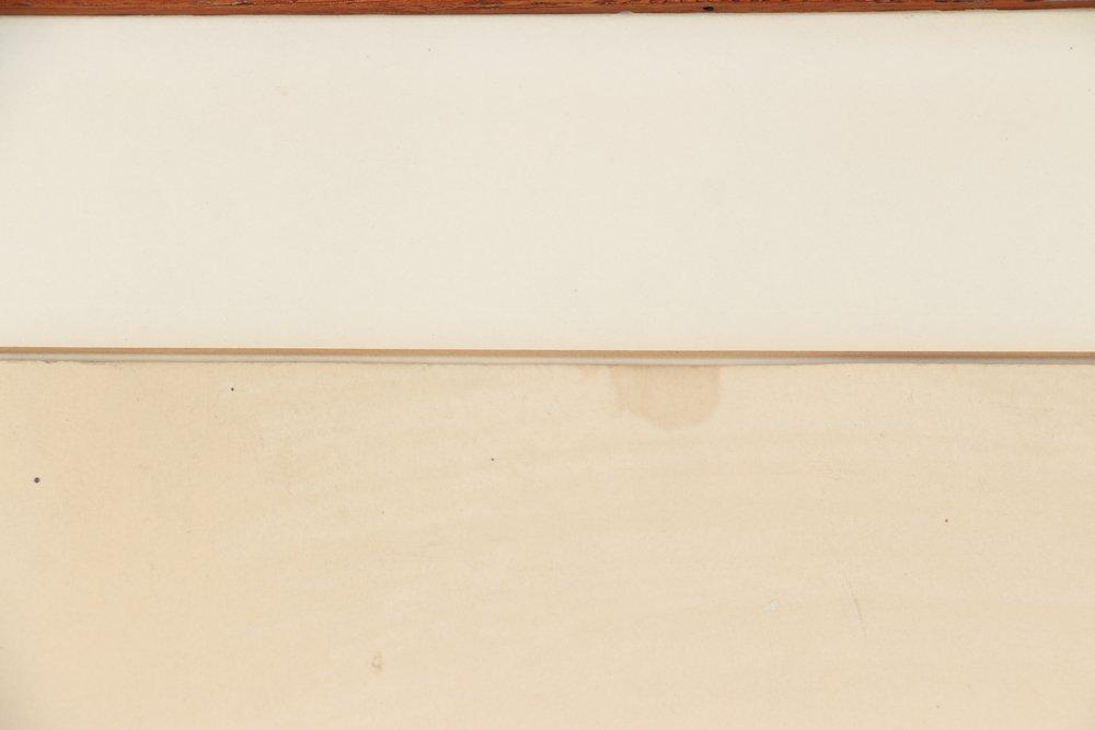 Leonardo Cremonini 1956 drawing Reclining Figures - 9