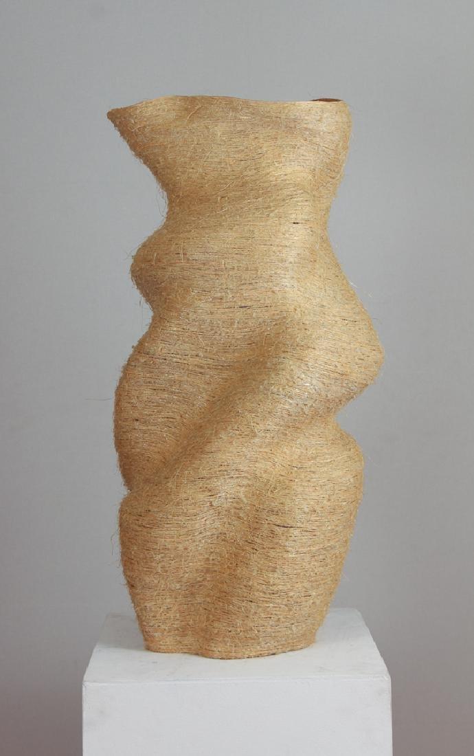 Alexandra Etschmaier Sisal sculpture Her