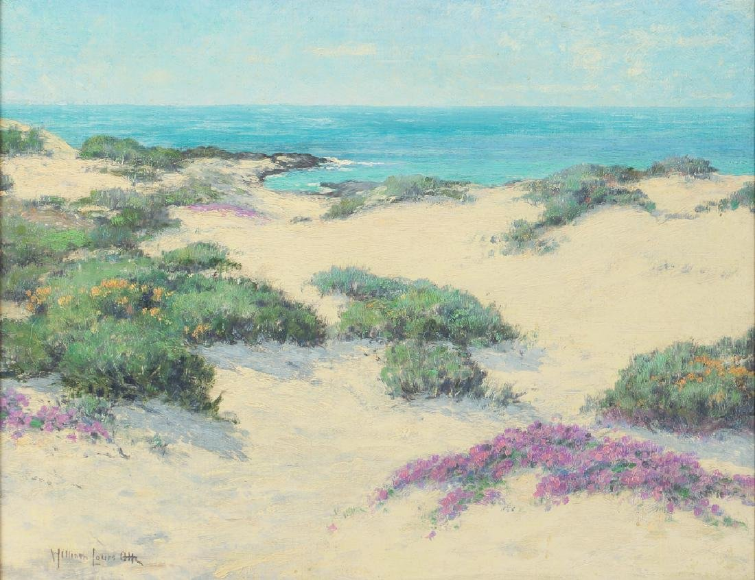 William Louis Otte 1930 ptg. Spring Days, Carmel