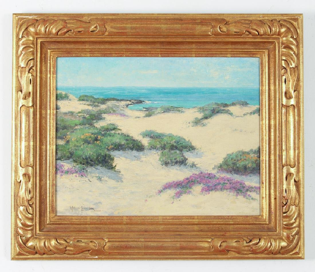 William Louis Otte 1930 ptg. Spring Days, Carmel - 2