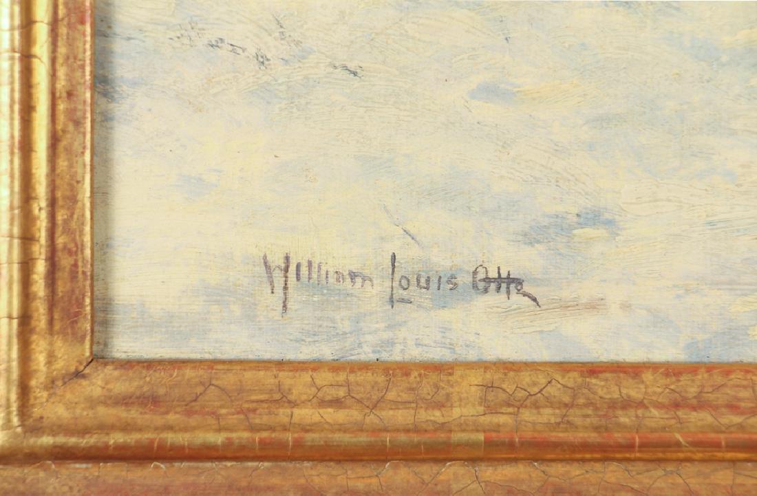 William Louis Otte 1930 ptg. Spring Days, Carmel - 3