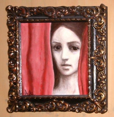 84: Luis Eduardo Aute painting  Curtain - 2