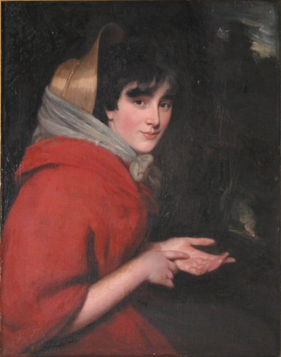 85: Attributed to John Opie Gipsy painting