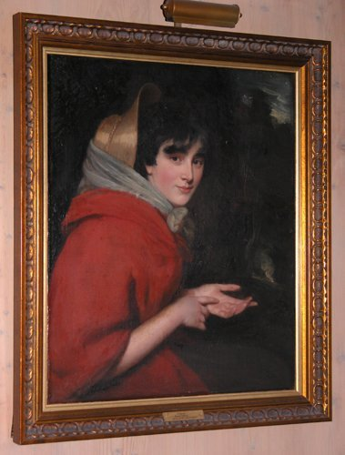 85: Attributed to John Opie Gipsy painting - 2