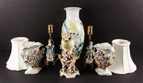 Group of Miscellaneous Porcelain and Pottery Items