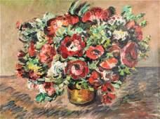 Mario Mariani Still Life of Flowers painting