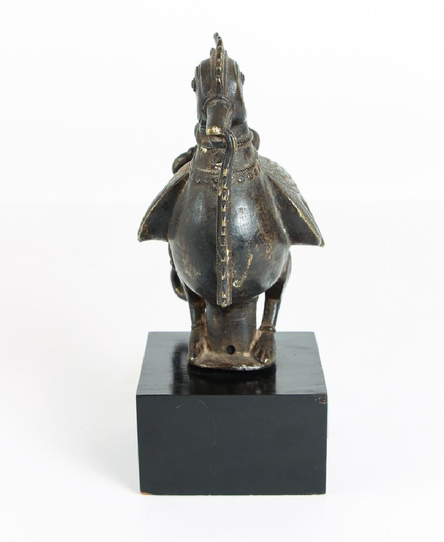 Indian Bronze Huma Bird, nicely detailed - 2