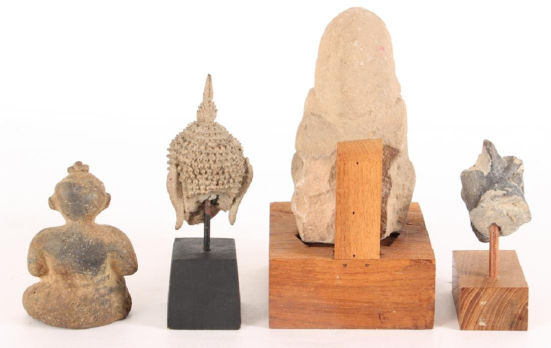 4 Ancient Asian artifacts - 2