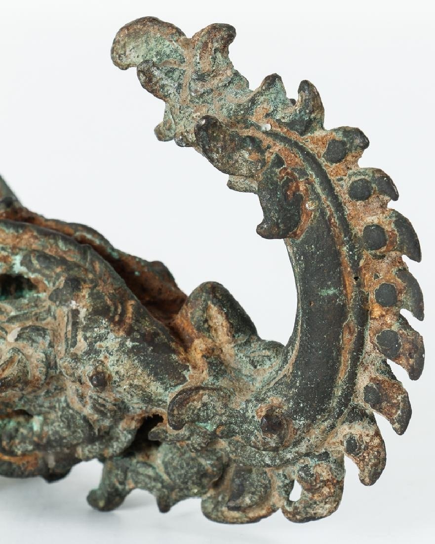 Chinese Bronze Ceremonial Architectural artifacts - 7