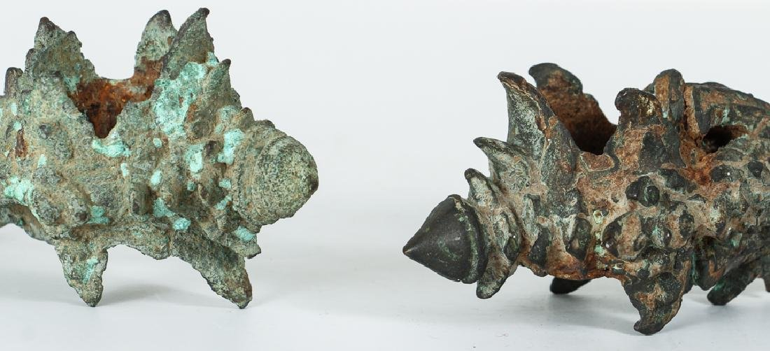 Chinese Bronze Ceremonial Architectural artifacts - 8