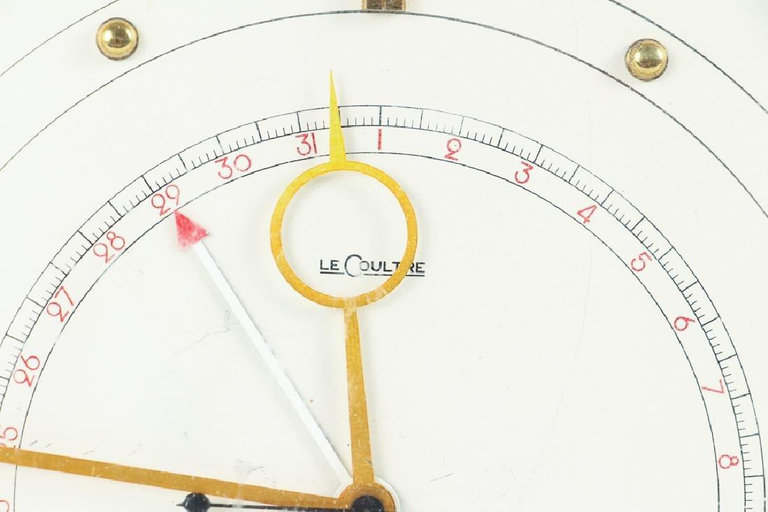 Vintage LeCoultre Art Deco Desk Clock - 3