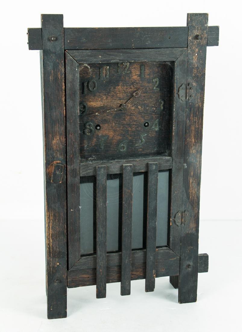 Antique Mission Influence Mantle Clock