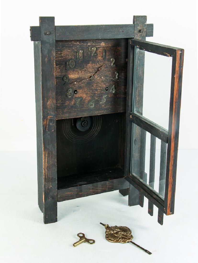 Antique Mission Influence Mantle Clock - 2