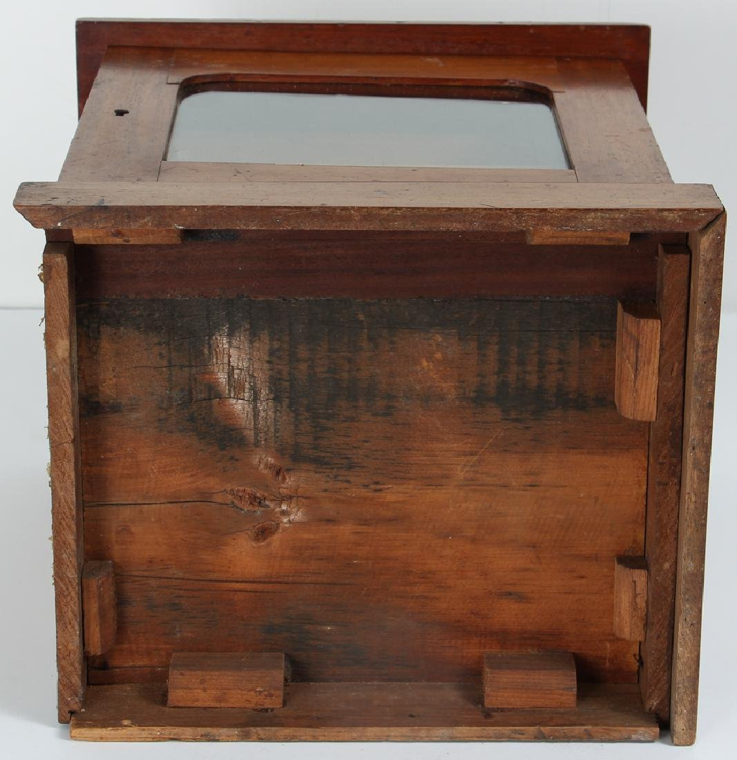 Small Antique Sterilizer Style Medical Cabinet - 8