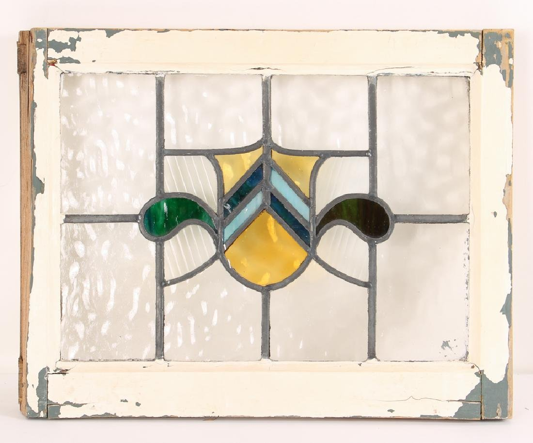 Antique Stained Glass Window - 2