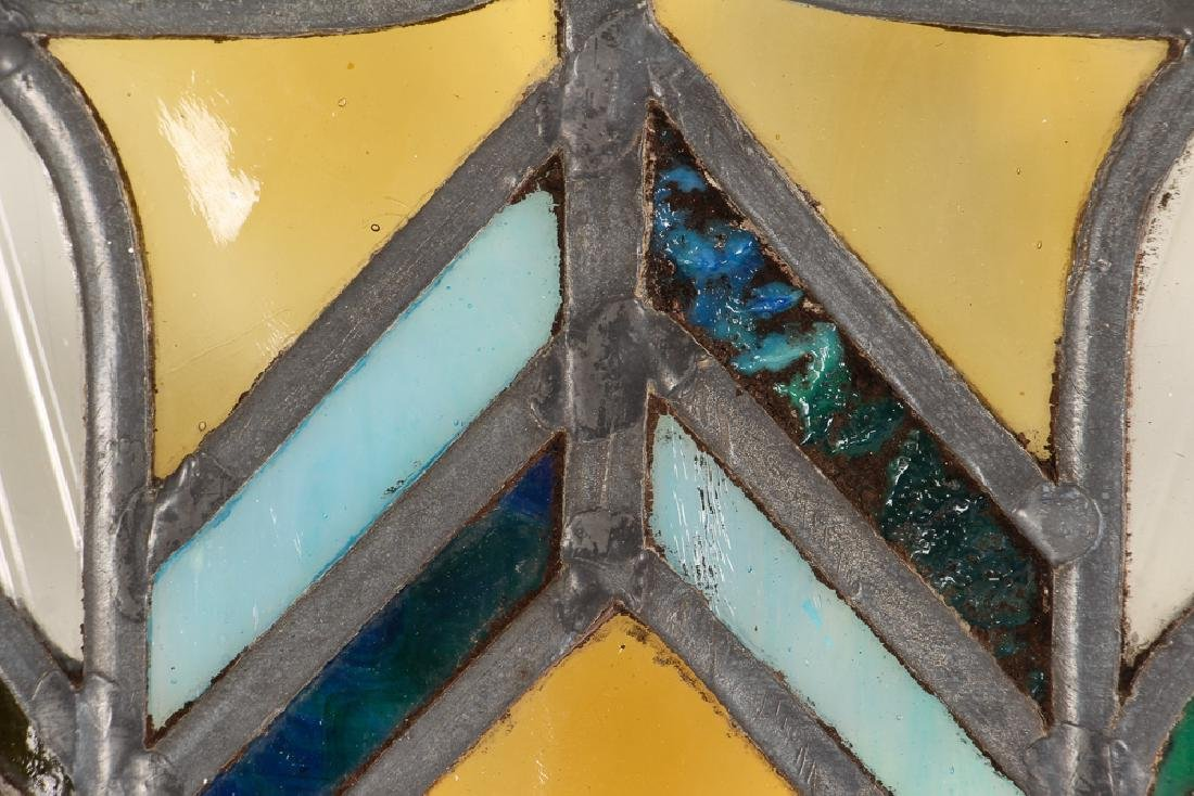 Antique Stained Glass Window - 6