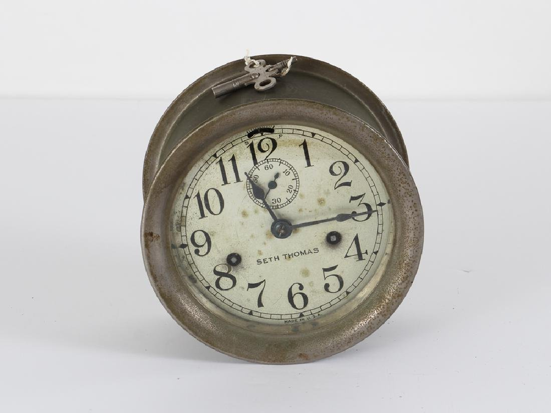 Seth Thomas Ships Clock