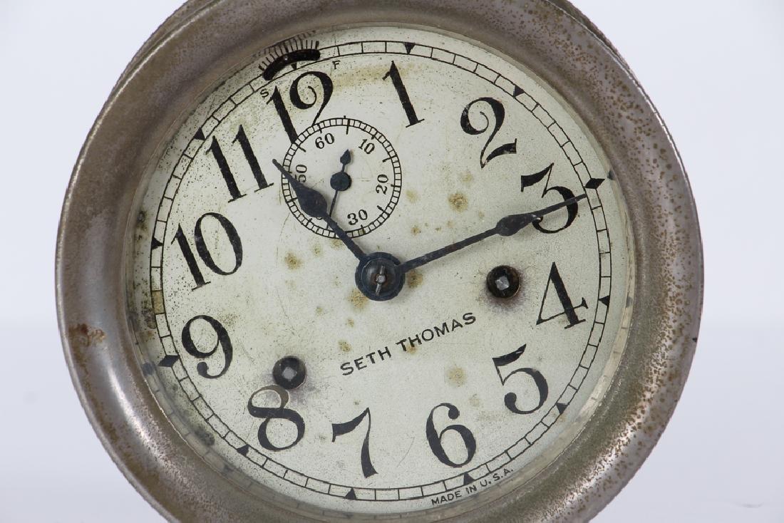 Seth Thomas Ships Clock - 5