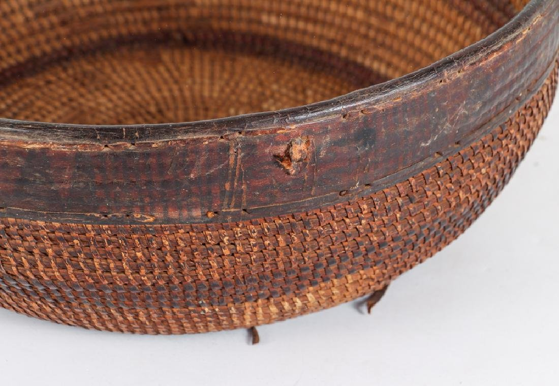 Antique American Indian Basket - 4