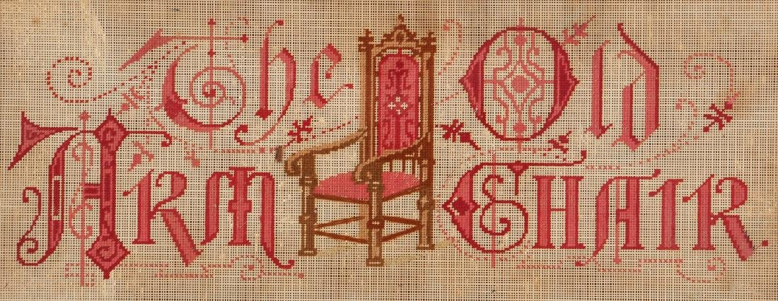 The Old Arm Chair Victorian Needlepoint