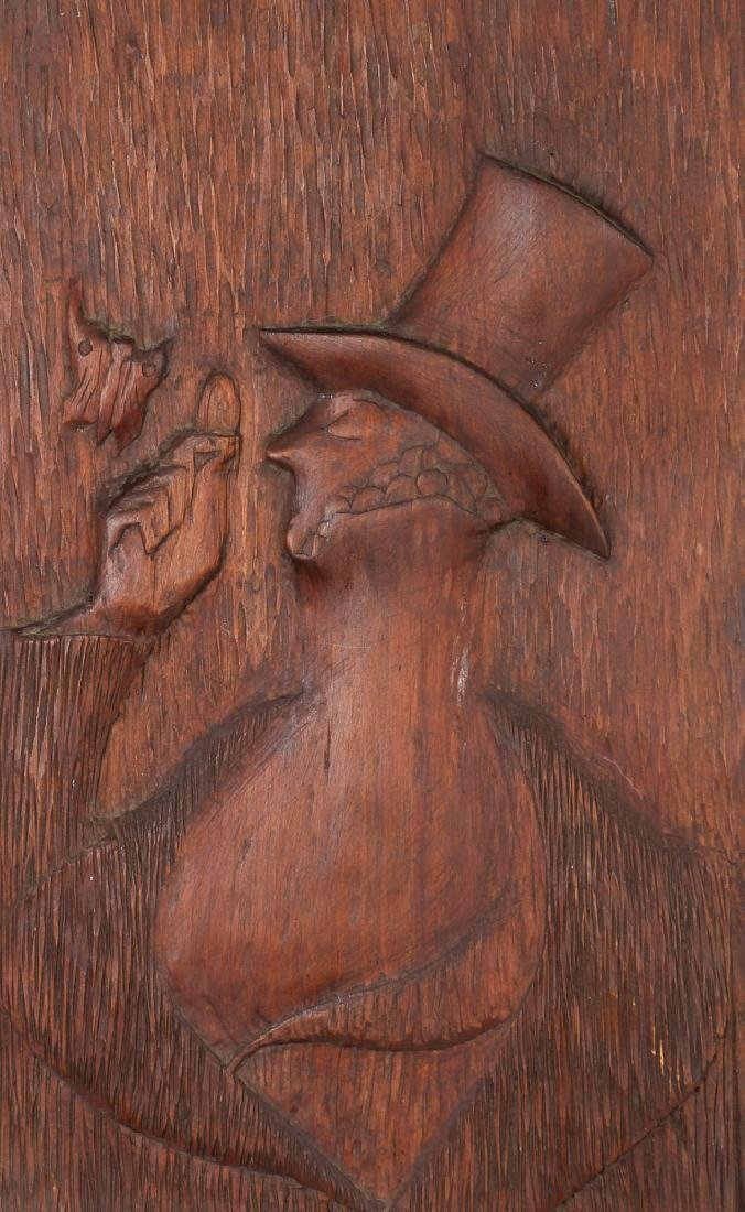 Carved Wood Eustace Tilley from New Yorker