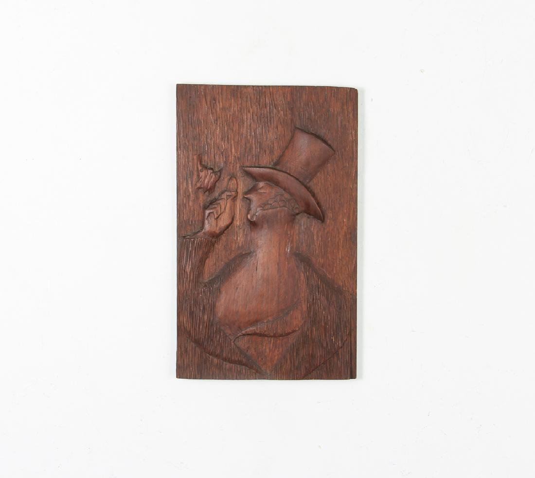 Carved Wood Eustace Tilley from New Yorker - 2