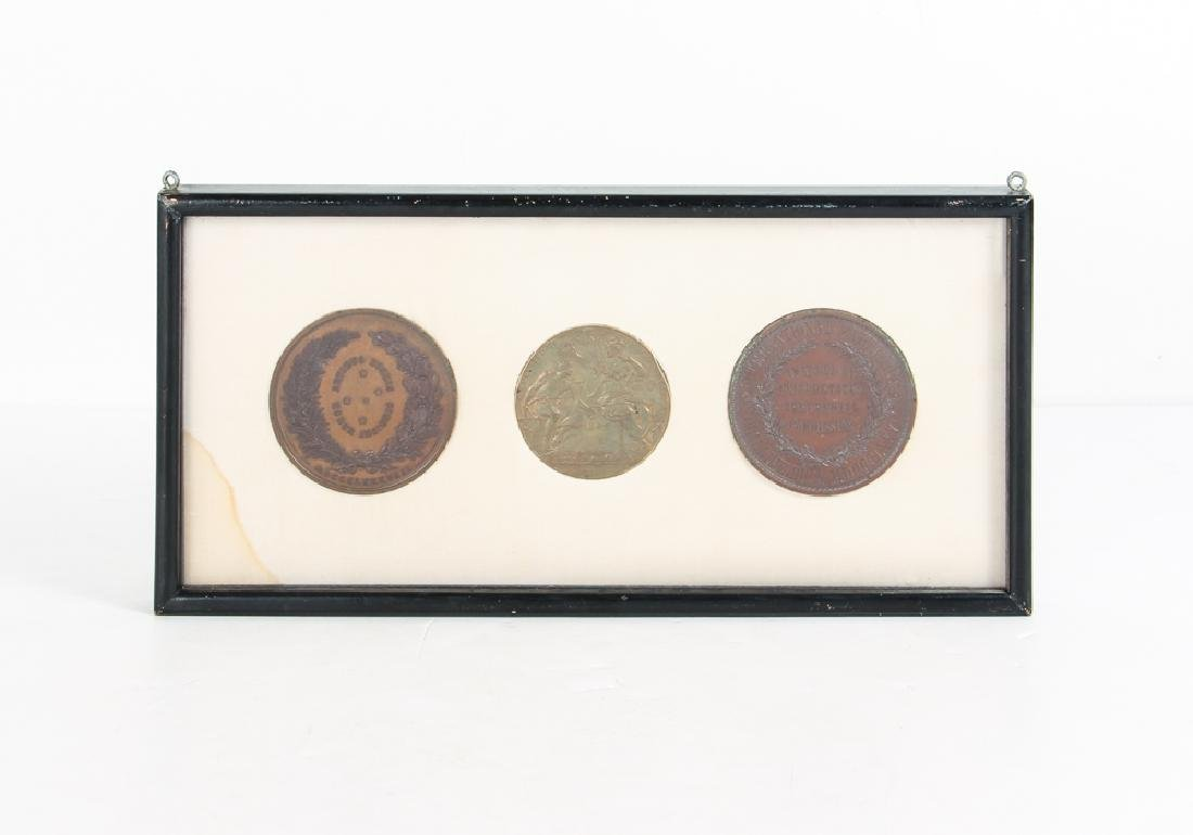 Three 19th Century Exhibition Medals