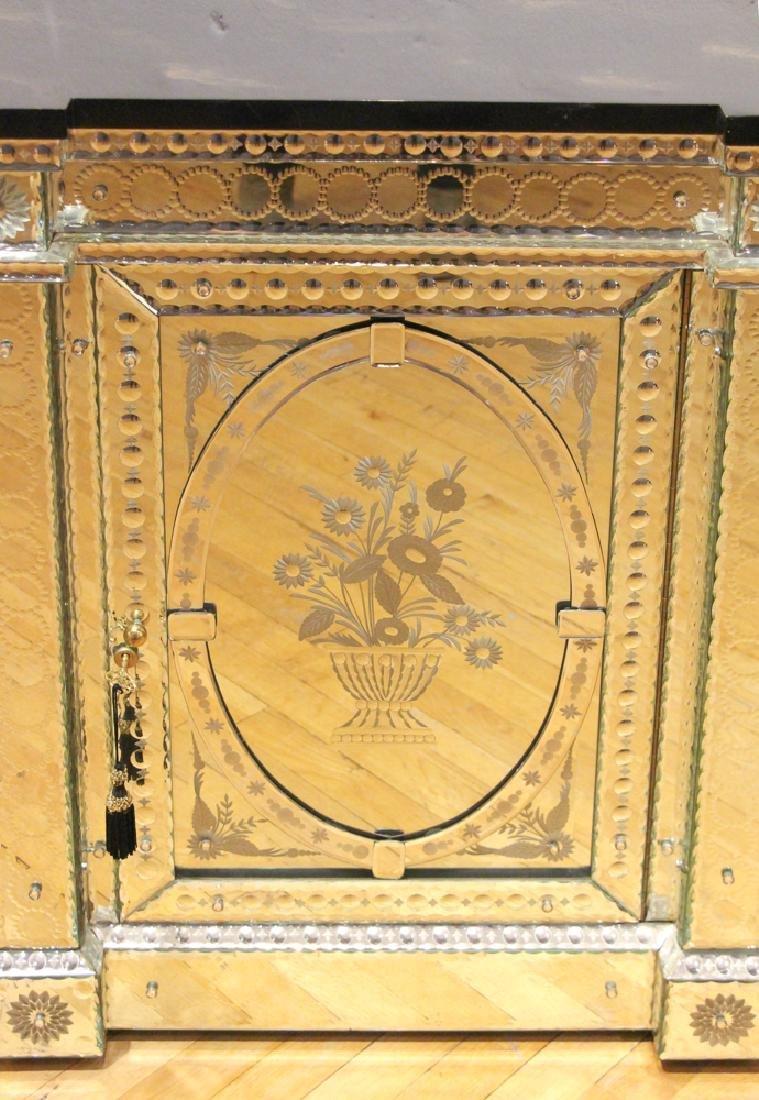 Venetian Mirrored Entry Chest - 4