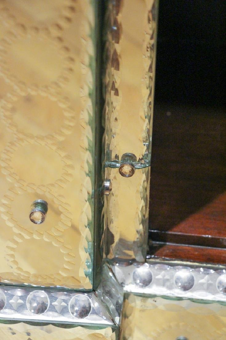 Venetian Mirrored Entry Chest - 6