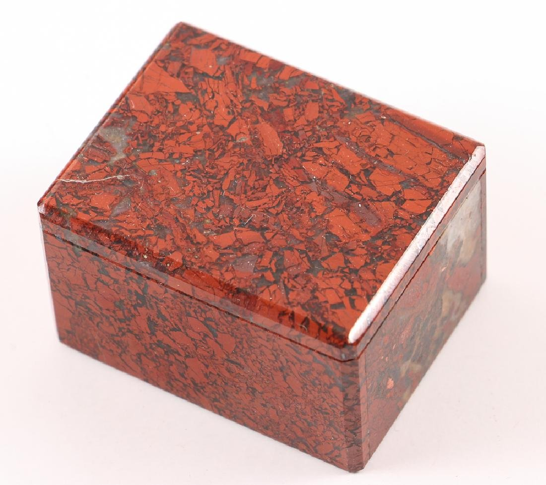 Five Stone and Mineral Specimen Boxes - 4