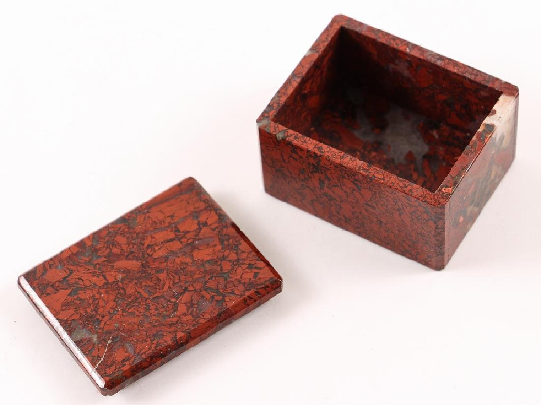 Five Stone and Mineral Specimen Boxes - 5