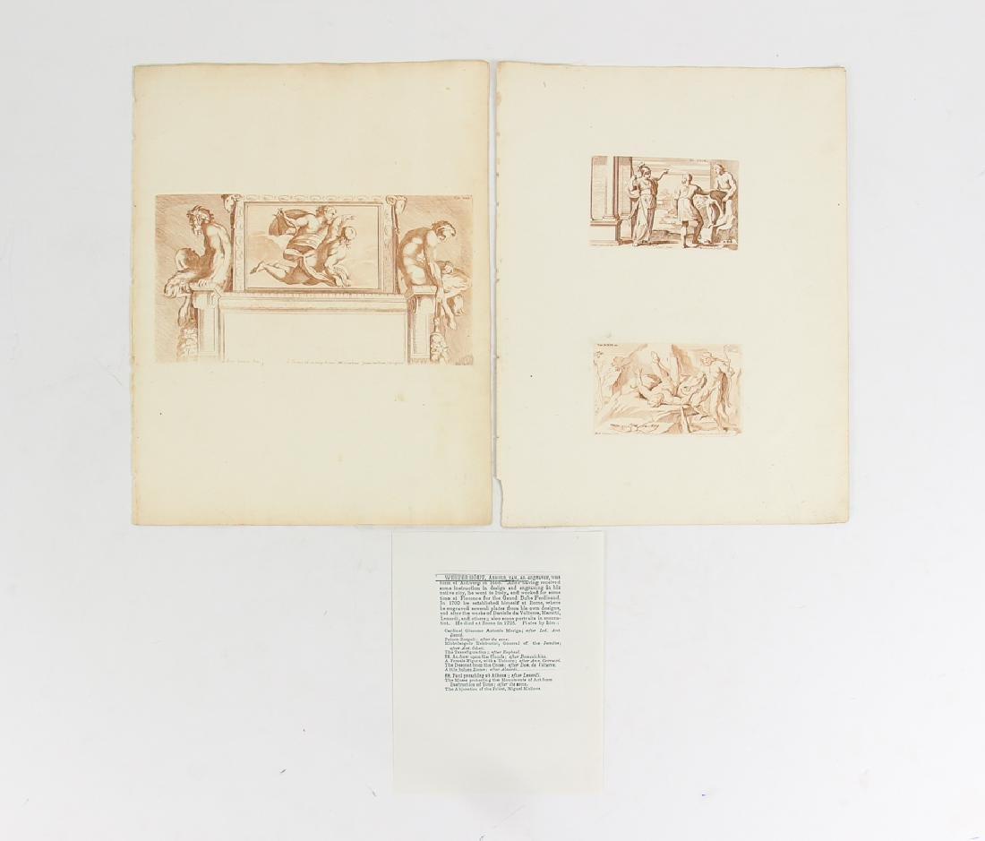 Loose Assortment of 12 Antique Prints - 3