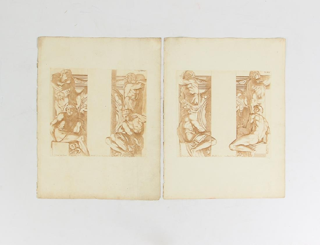 Loose Assortment of 12 Antique Prints - 4