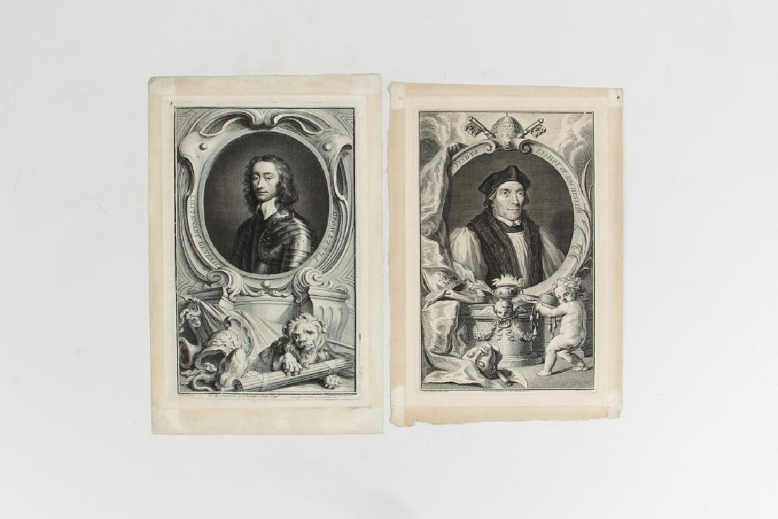Loose Assortment of 12 Antique Prints - 5