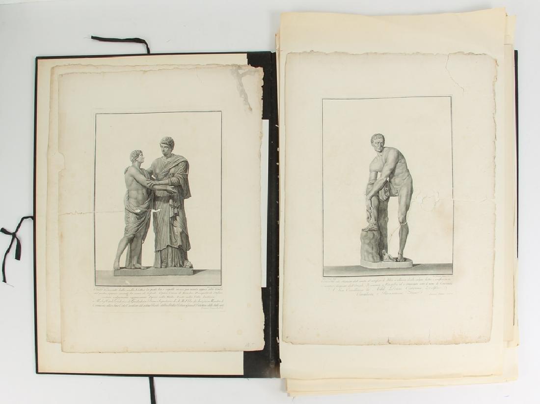 Loose Assortment of 16 Antique Classical Prints - 2