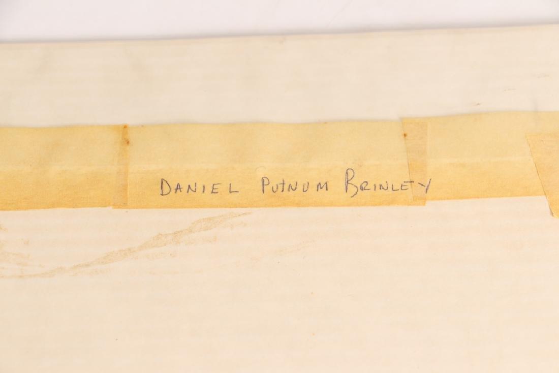 Daniel Putnam Brinley pencil drawing 19th C. Baseball - 6