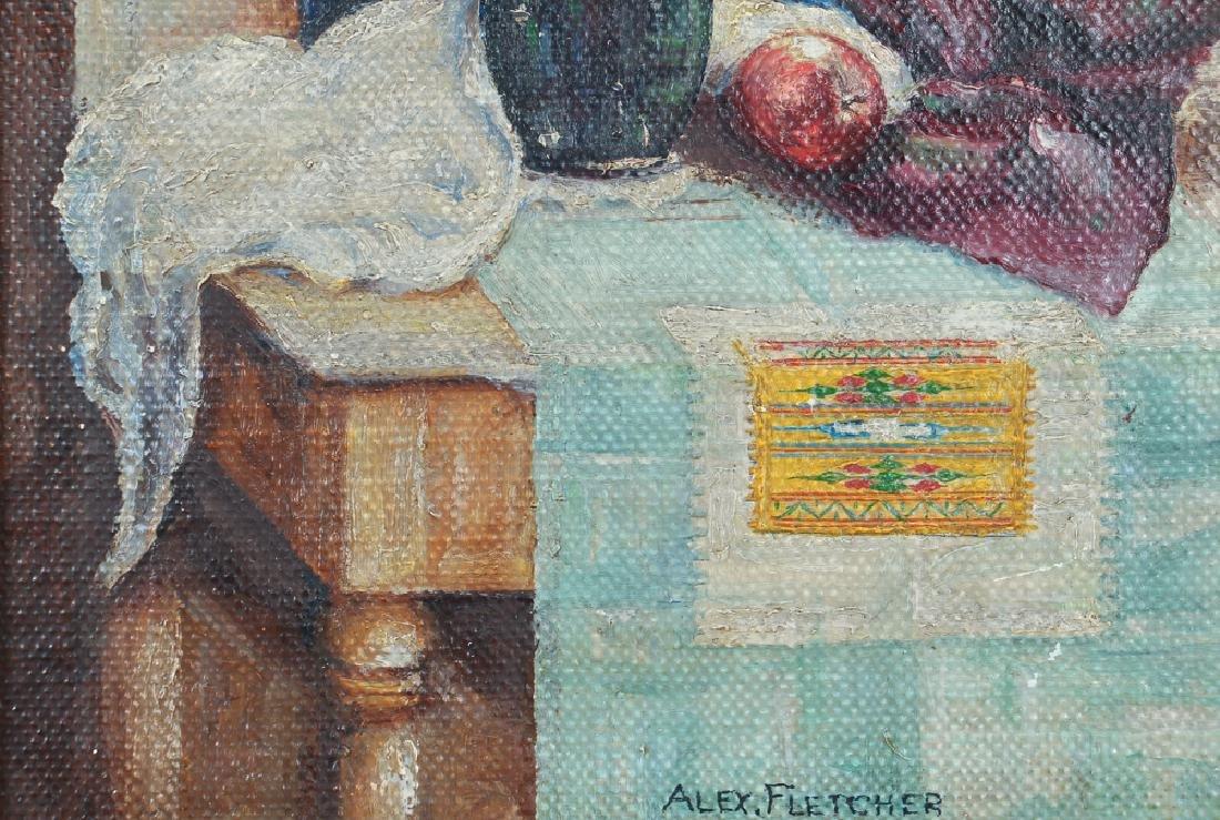 Alex Fletcher Studio Still Life painting - 6