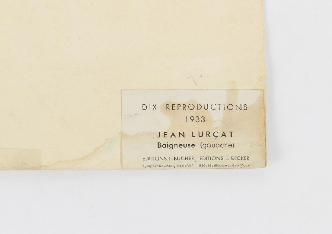Jean Lurcat porchoir from Dix Reproductions 1933 - 9