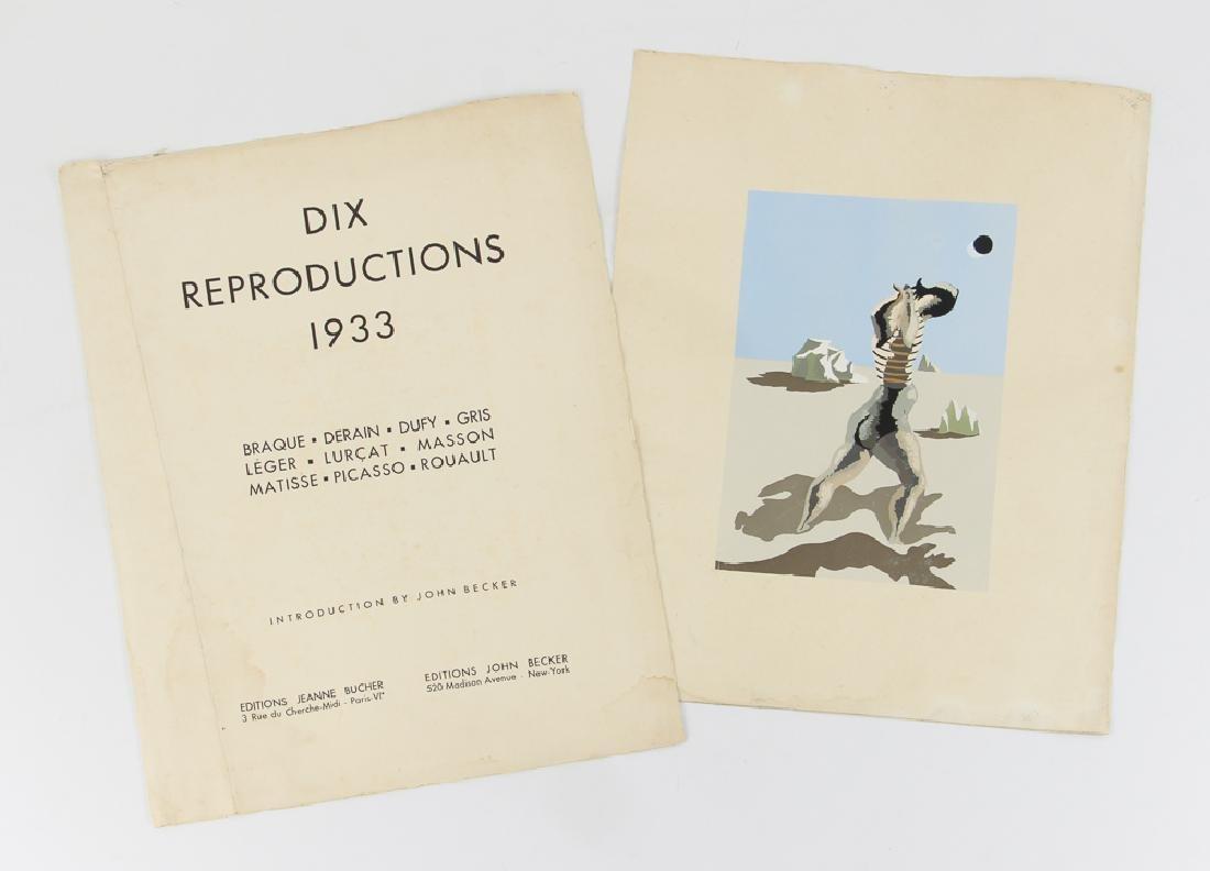 Jean Lurcat porchoir from Dix Reproductions 1933