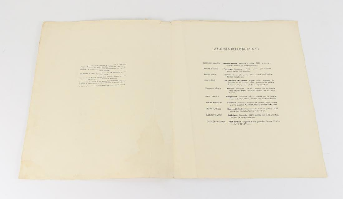 Jean Lurcat porchoir from Dix Reproductions 1933 - 3