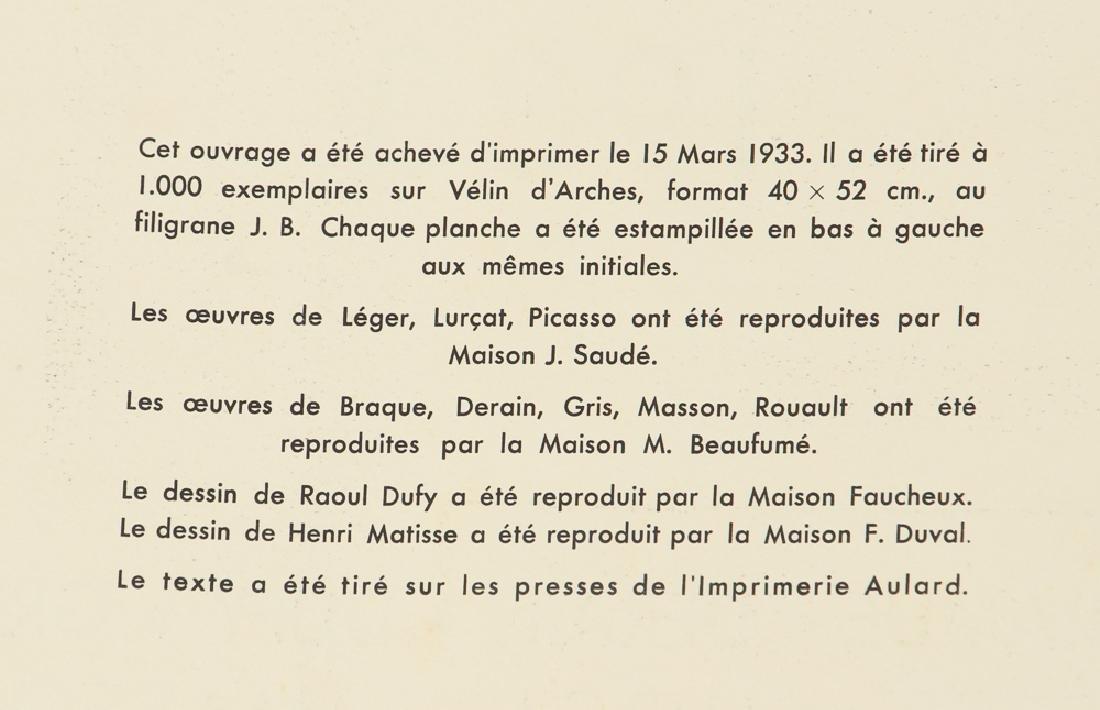 Jean Lurcat porchoir from Dix Reproductions 1933 - 4