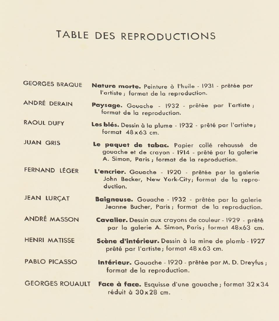 Jean Lurcat porchoir from Dix Reproductions 1933 - 5