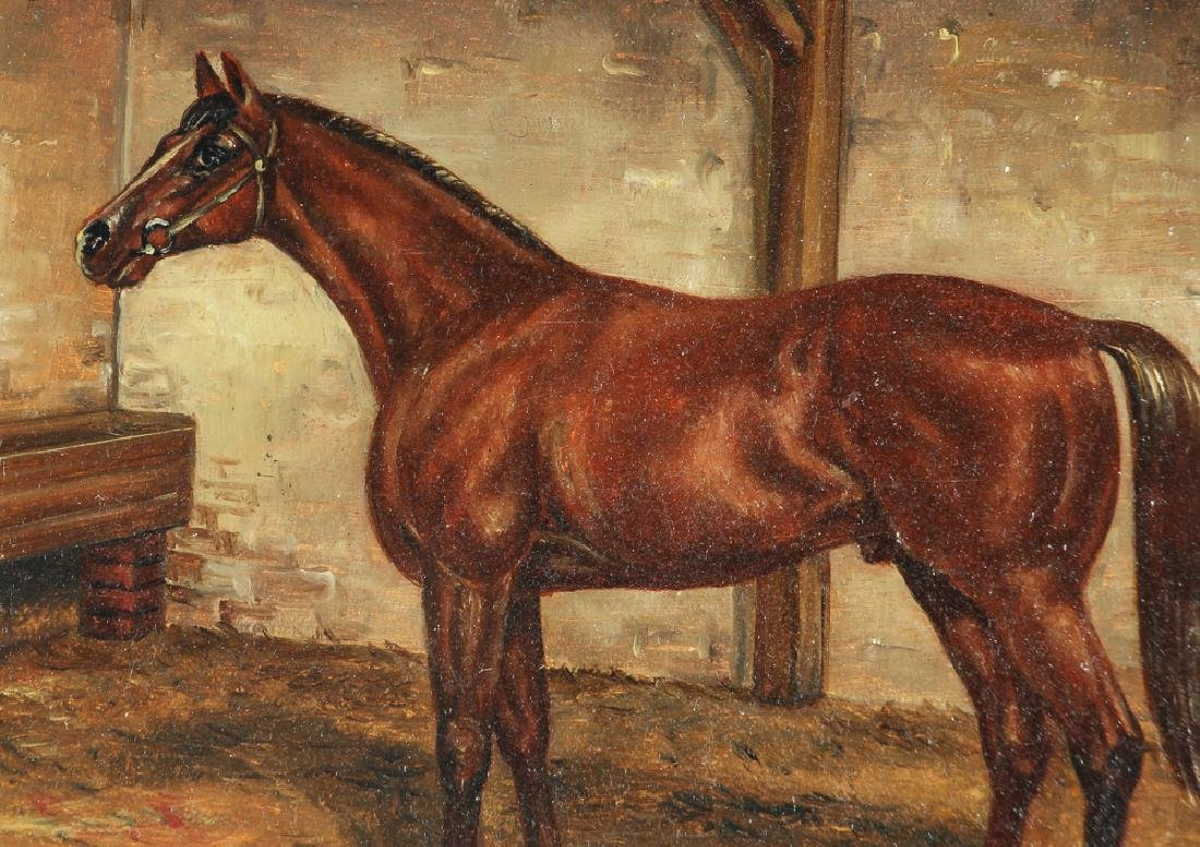 Robert Nadler Oil Painting of a Horse - 4
