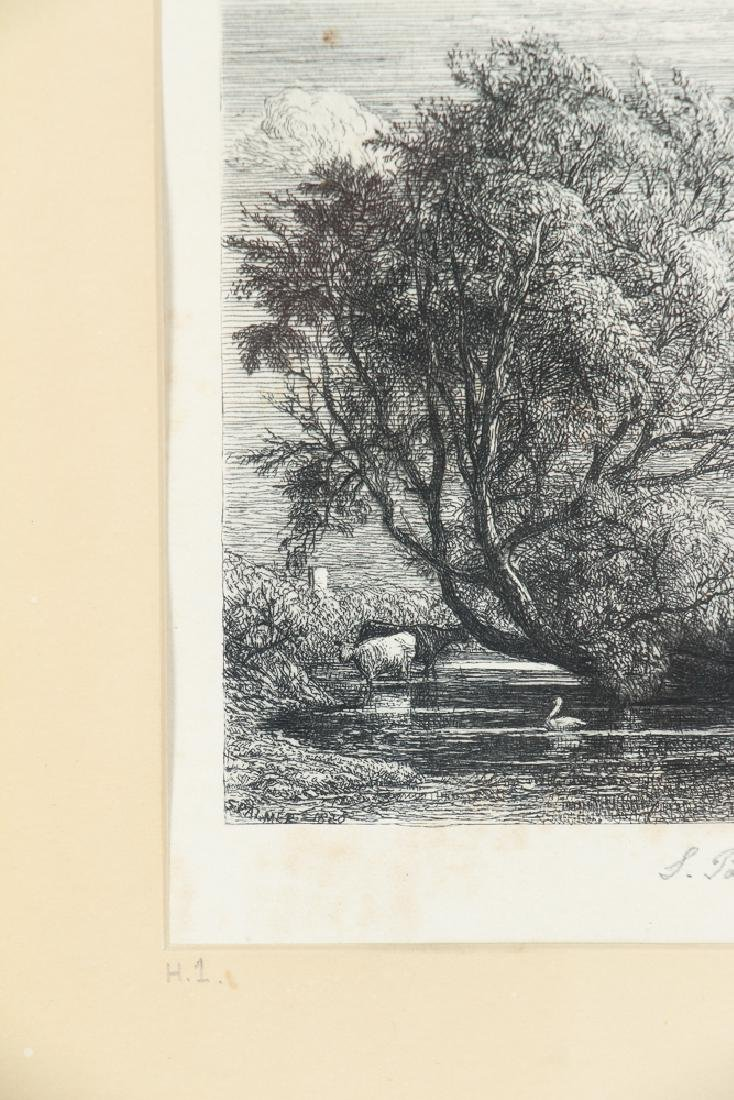 Samuel Palmer The Willow Etching - 5
